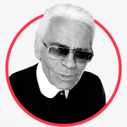 Karl Lagerfeld photo