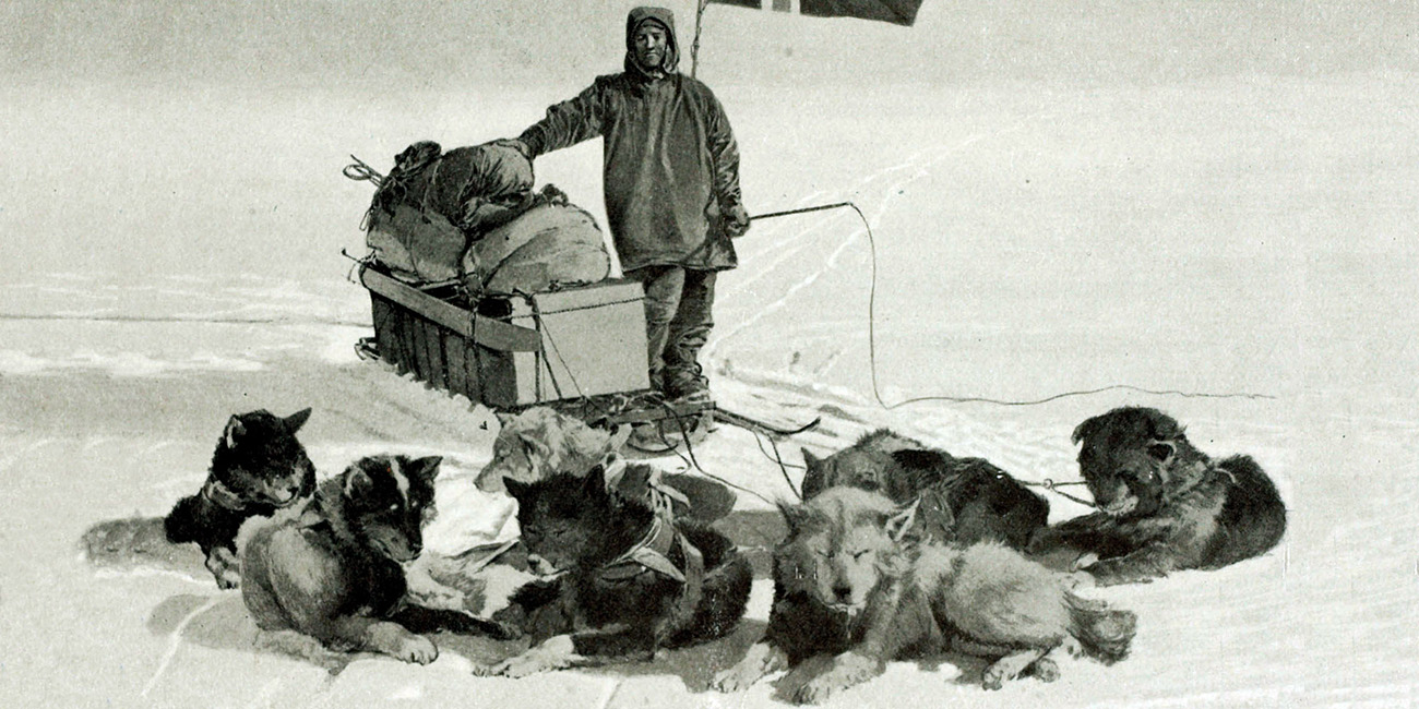 Scott vs. Amundsen: History of the Conquest of the South Pole