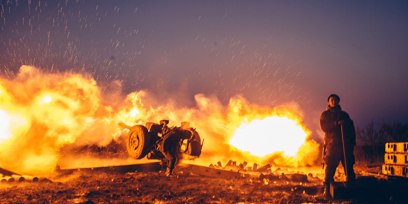 """Maxim Avdeev: """"This is like World War II, But With More Grad Missiles"""""""