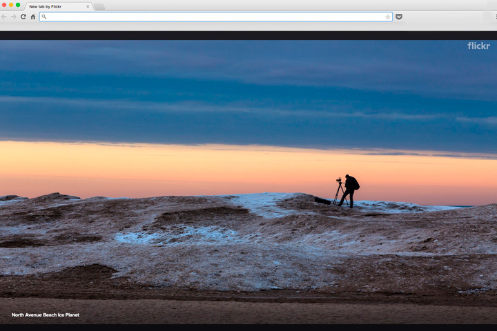 Flickr's Best Photos will be Used as Background in Google Chrome
