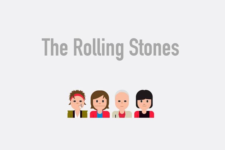 A Designer Created Emoji Symbols of Famous Musical Bands — Bird In