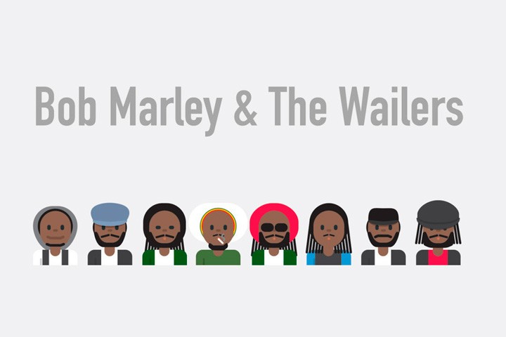 A Designer Created Emoji Symbols of Famous Musical Bands — Bird In