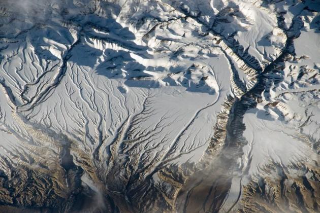 Гималаи, китайско- индийская граница.