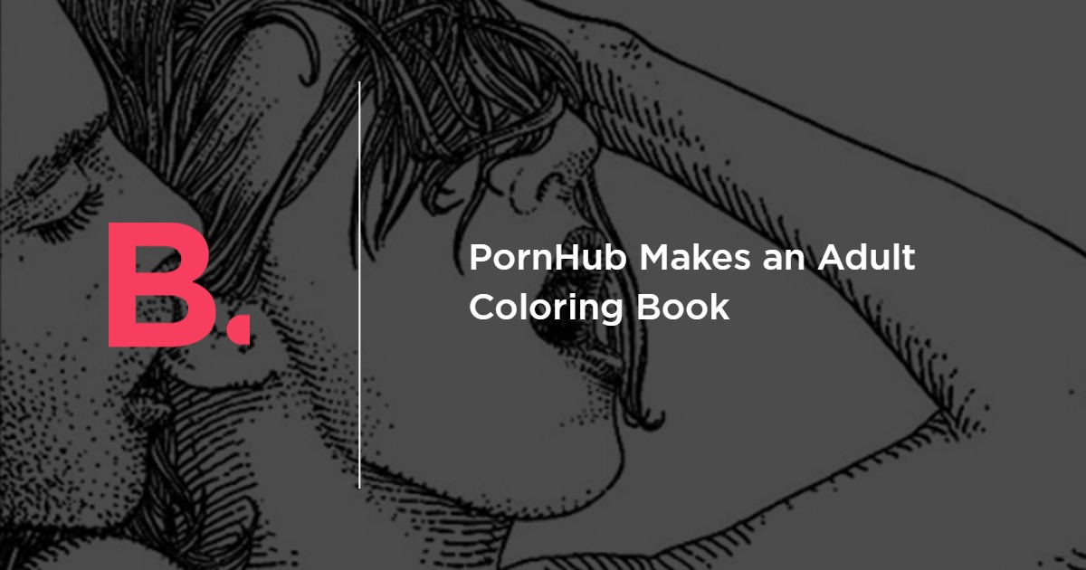 Pornhub Makes An Adult Coloring Book Bird In Flight